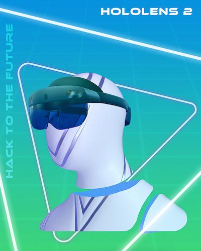 MIT Reality Hack Branding Hololens