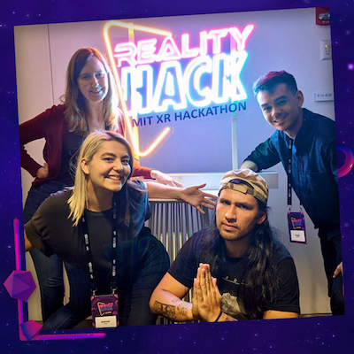 MIT Reality Hack Branding Image 1