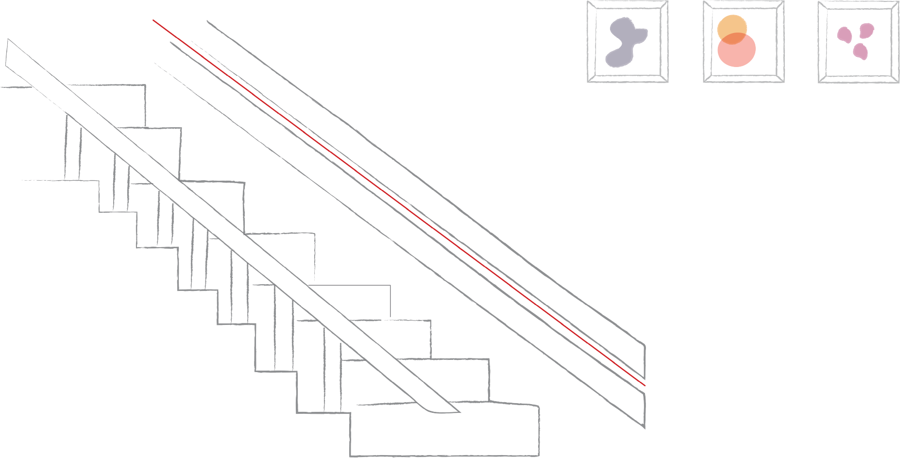 Love Stairlifts Character Illustration animation