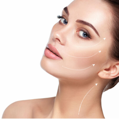 facelifting image for hifu treatment