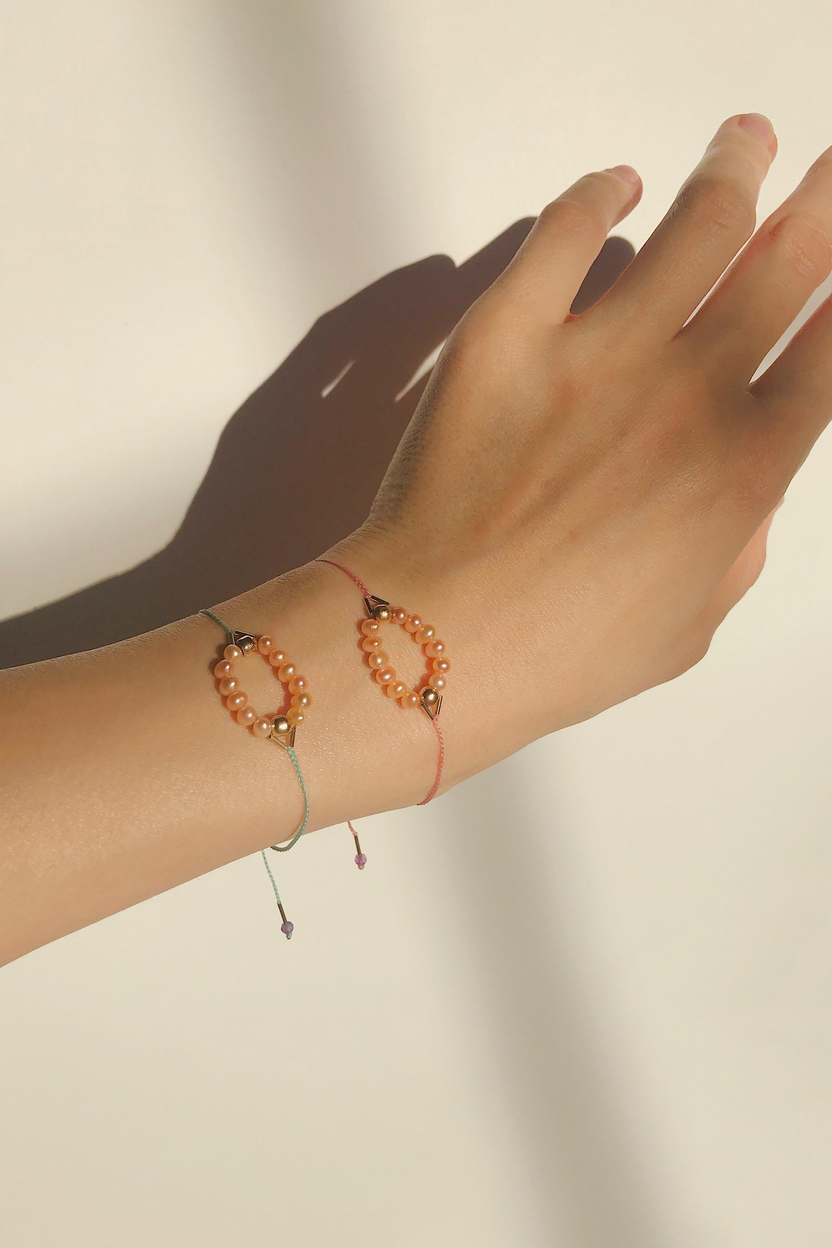 Circle Bracelet Mint