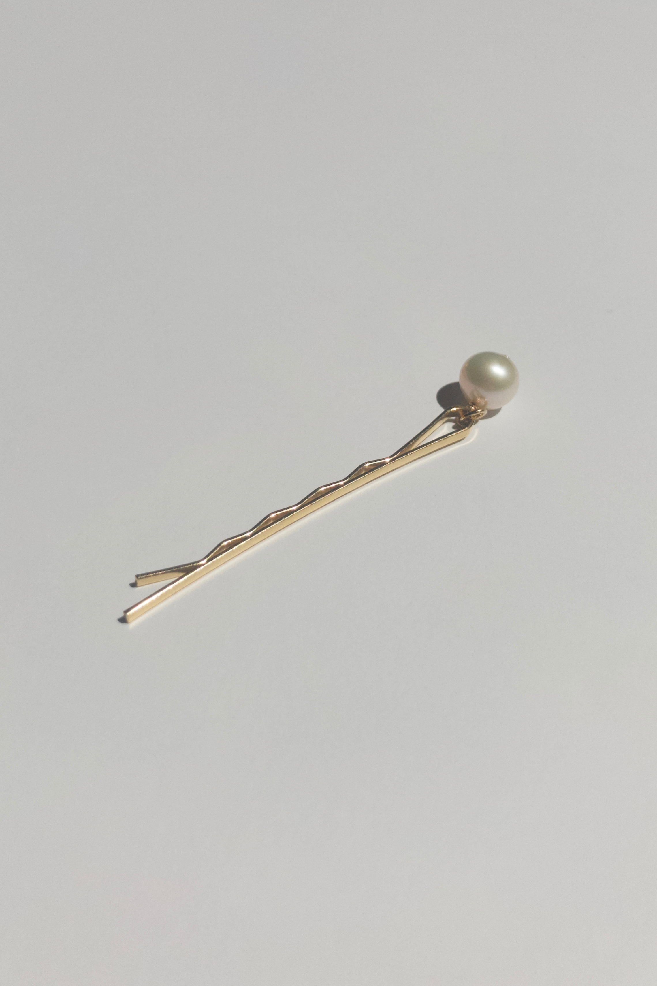 White Potato Hair Pin