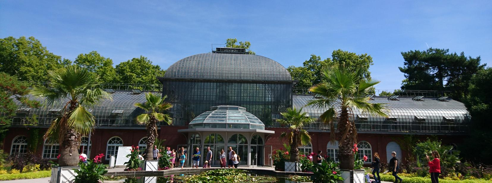 visiter francfort 2 jours jardin palmengarten