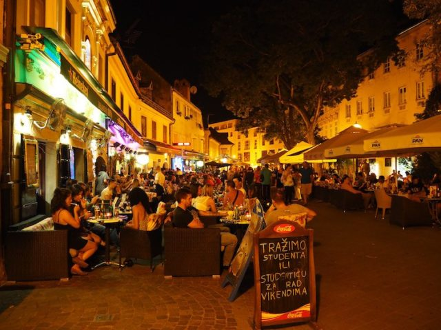 sortir dans un bar à Zagreb