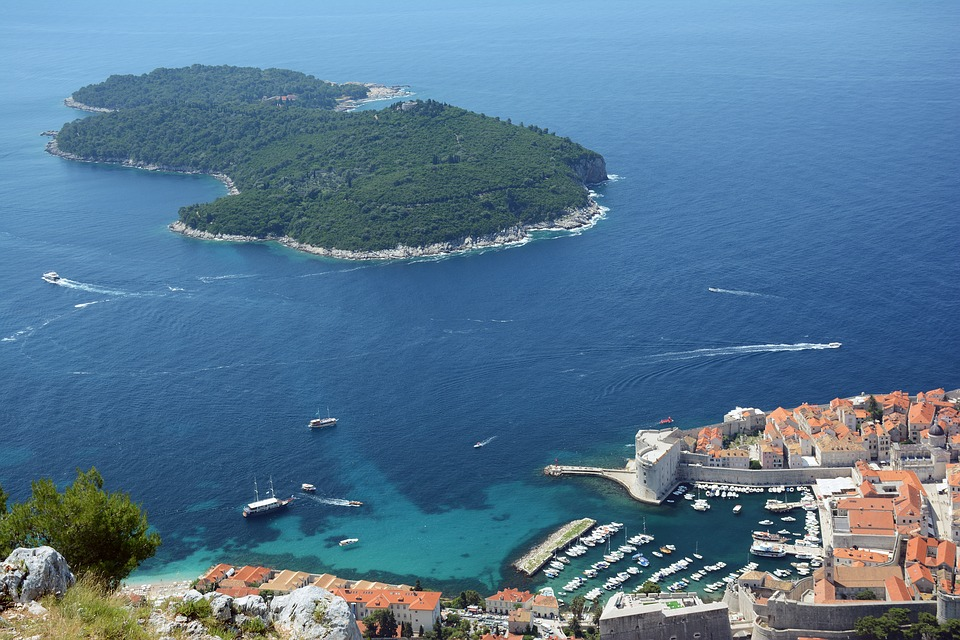 visiter dubrovnik 1 jour croatie ile
