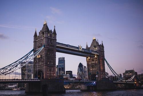 carte touristique de Londres