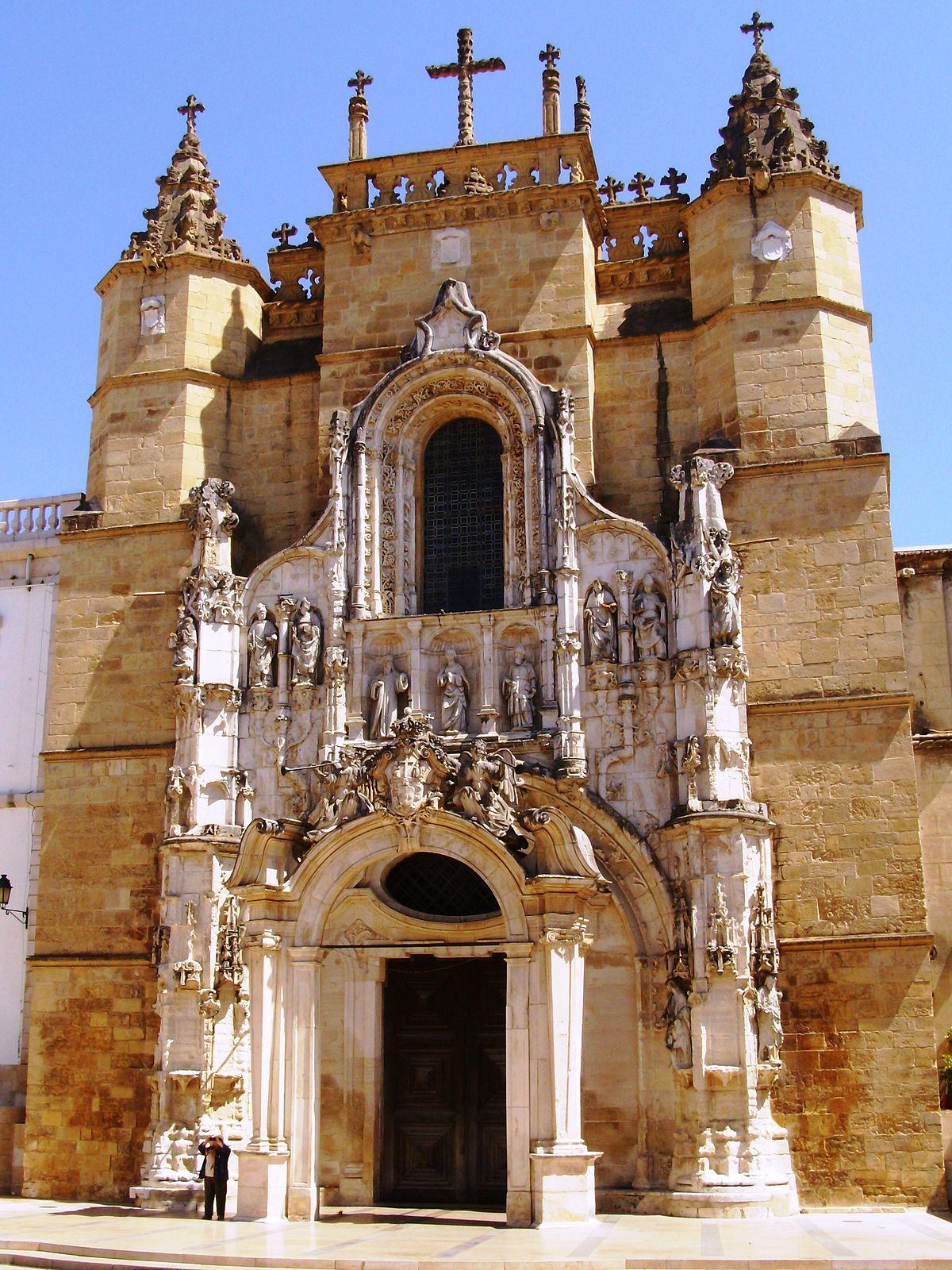 monastère coimbra portugal