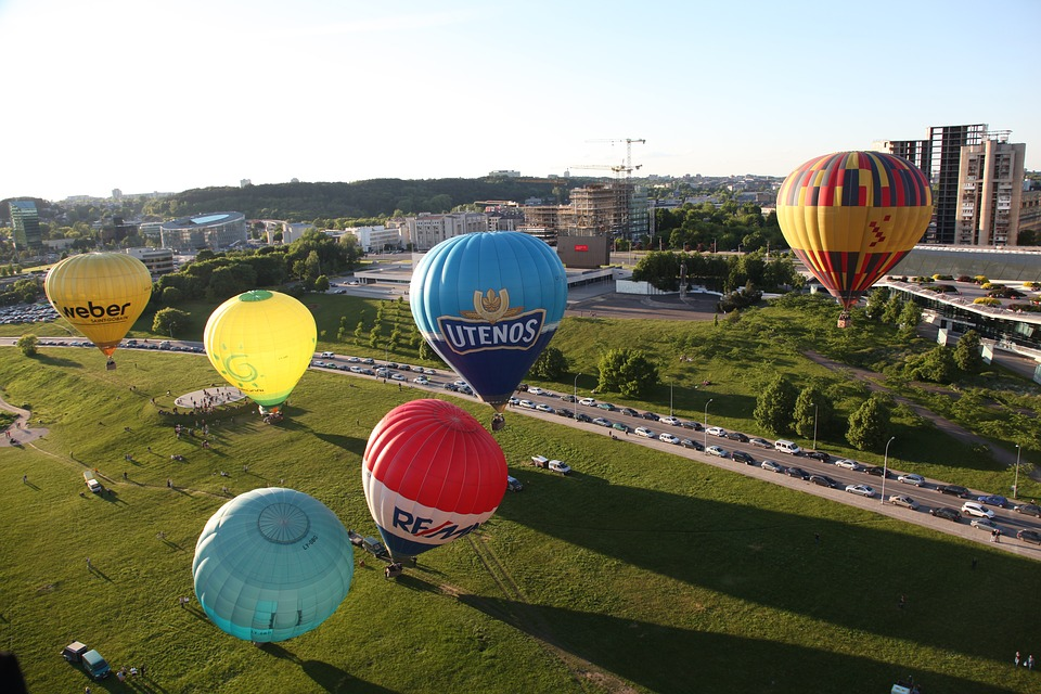 vilnius montgolfière
