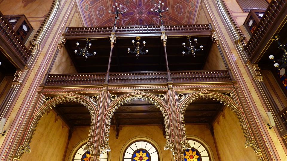 budapest synagogue intérieur