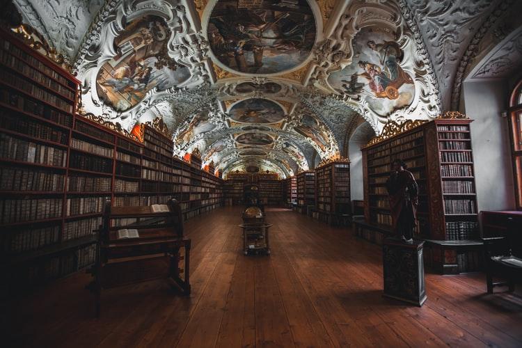 prague bibliothèque