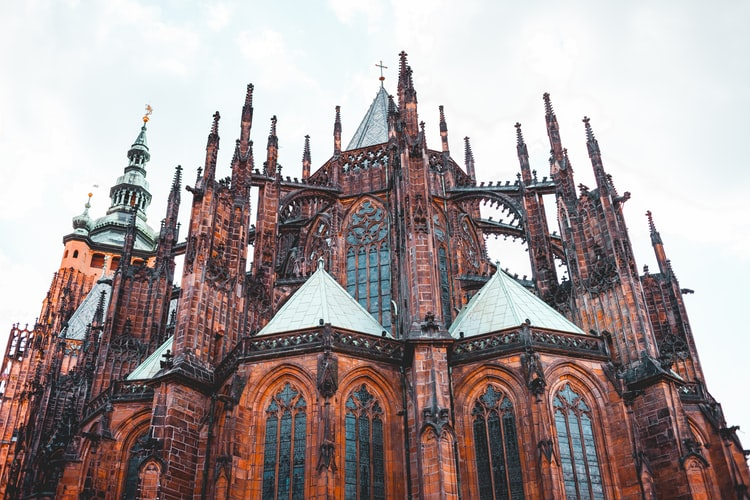 prague cathédrale chateau