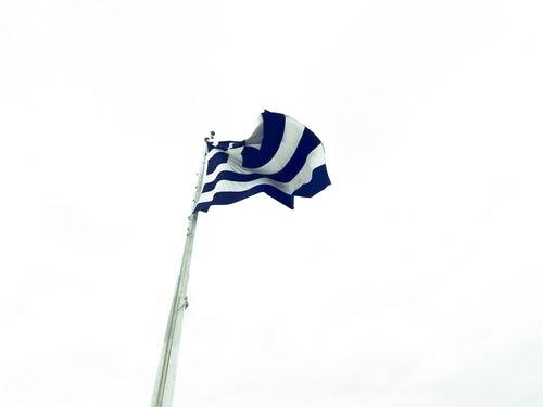 athenes drapeau