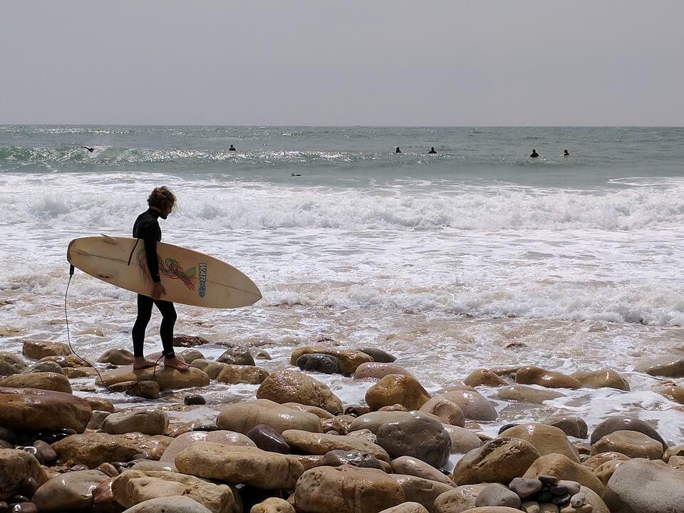 plages autour de porto surf