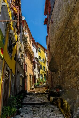 visiter porto ruelle portugal