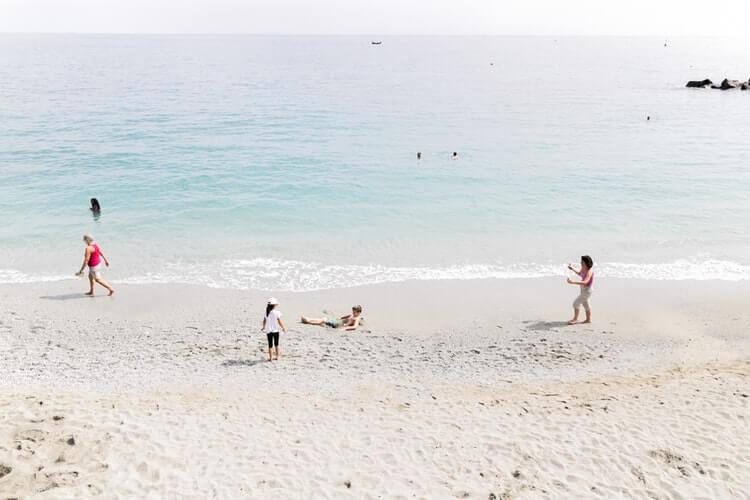 plage cinque terre