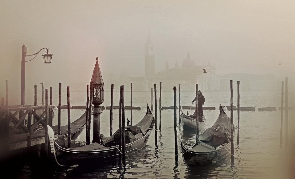 brouillard venise