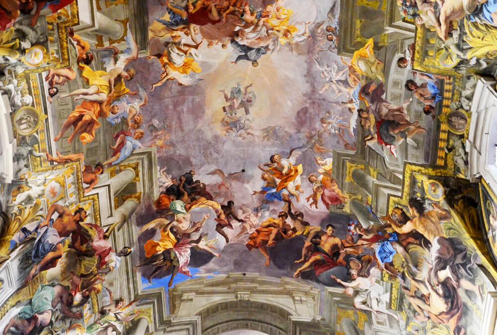 église Saint-Ignace de Loyola visiter rome autrement