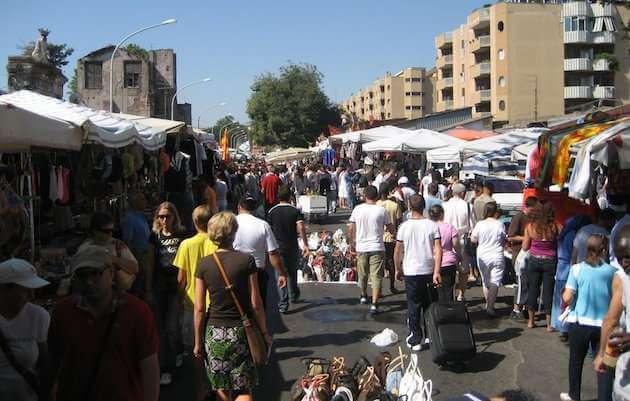 marché aux puces visiter rome autrement
