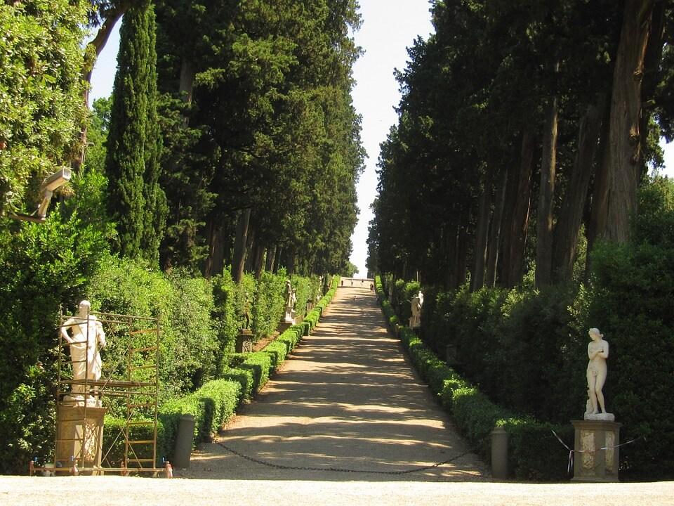 visiter jardin florence à pied