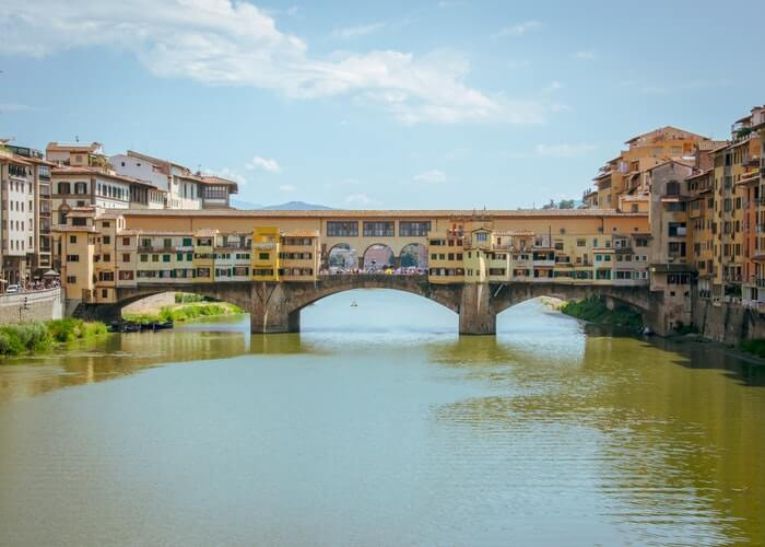 visiter monument ponte vecchio florence