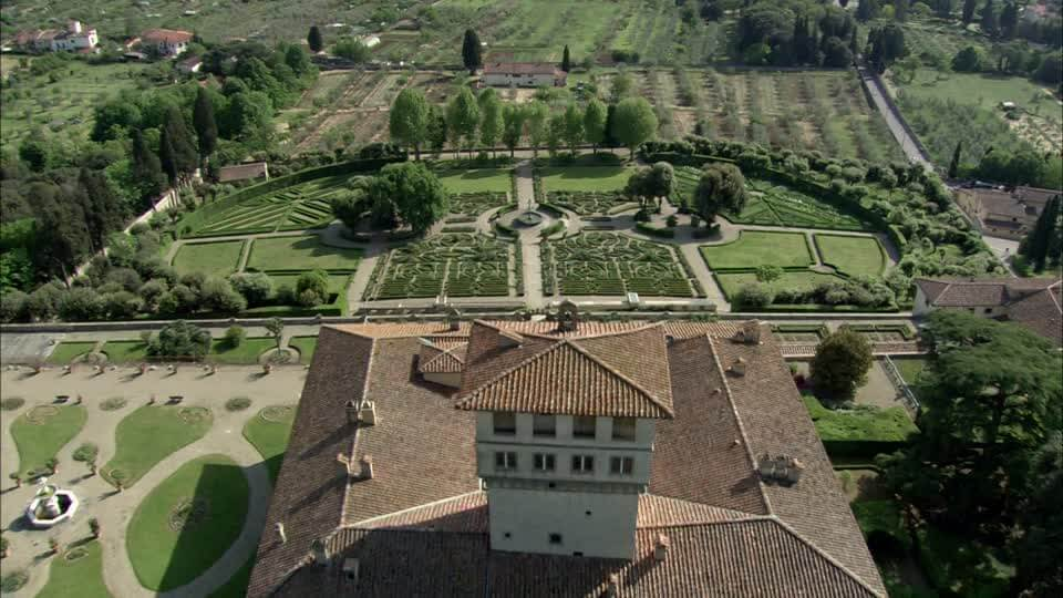 visiter florence villa medicis