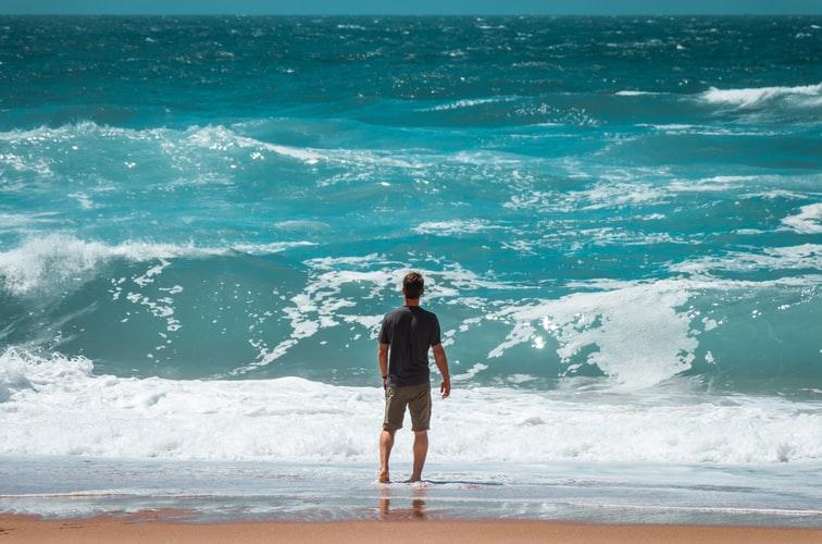 plage à sintra praia