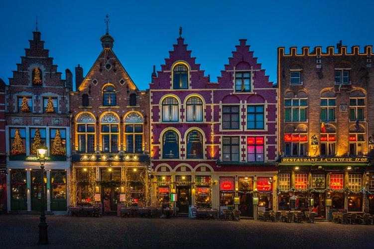 Les Maisons Traditionnelles de Bruges