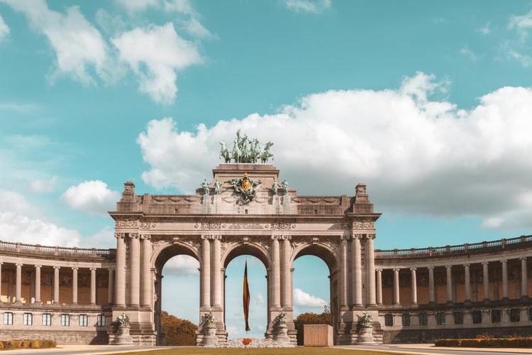 Parc du cinquantenaire à Bruxelles
