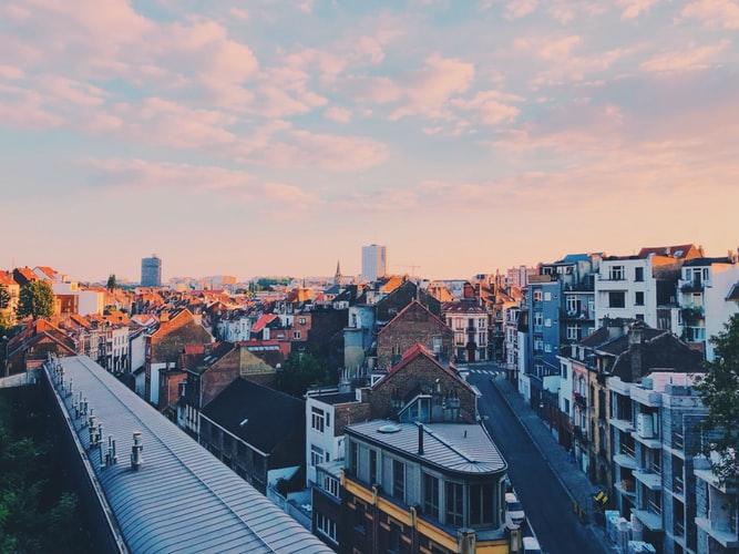 Vue sur Bruxelles et Ixelles
