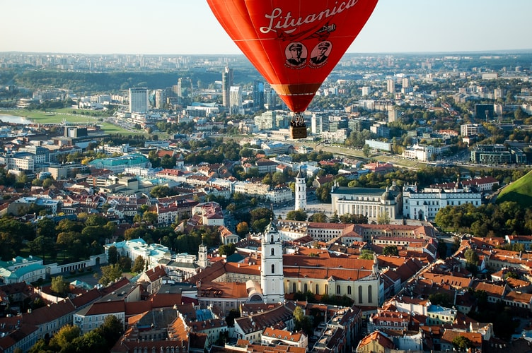 Vol en montgolfière à Vilnius