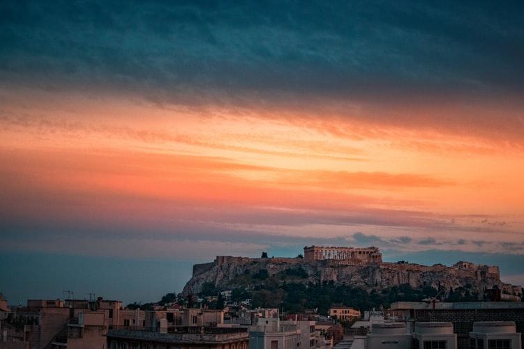 Vue sur l'Acropole