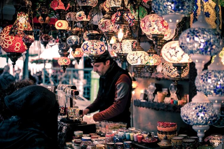 Balade dans le Grand Bazar