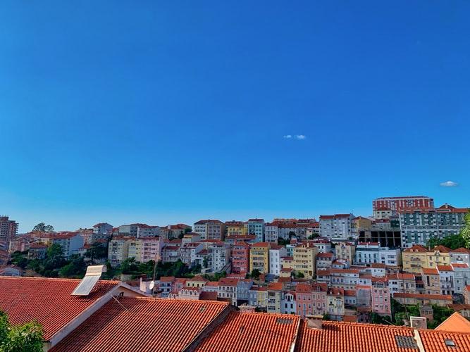Les maisons colorées de Coimbra