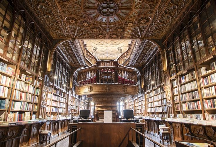 Librairie Lello à Porto