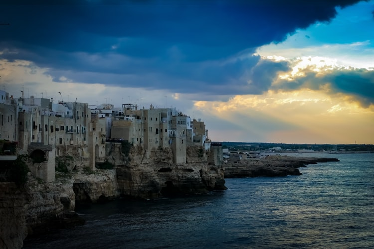 Vue sur la ville de Bari