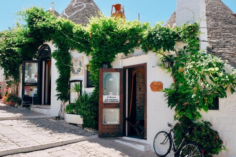 Les maisons typiques d'Alberobello