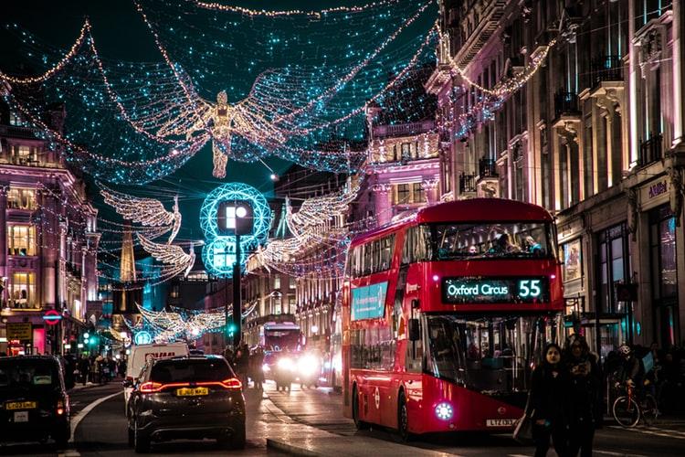 La Regent Street animée de Londres