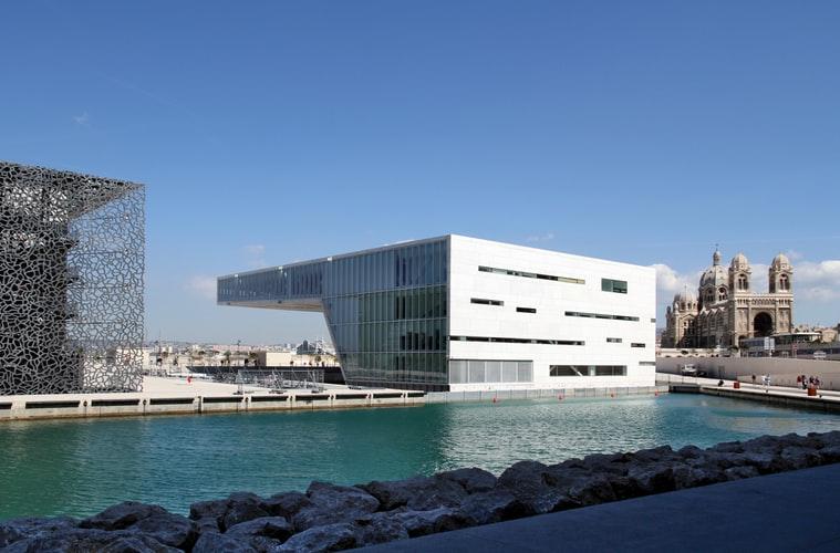 Le complexe du Mucem sur le vieux port de Marseille