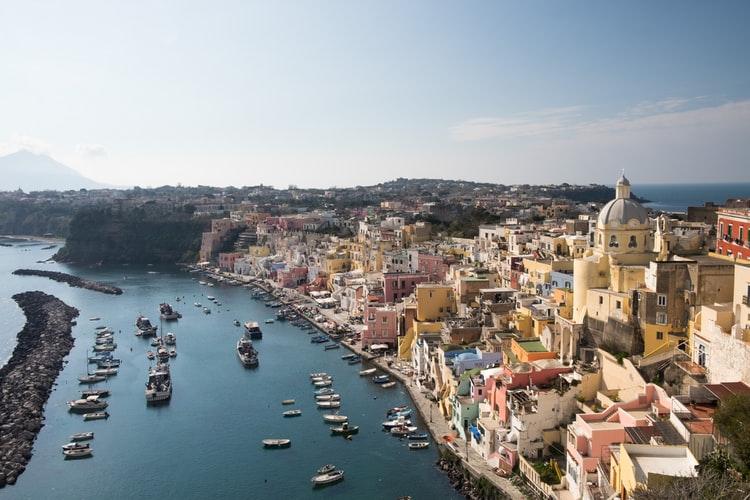 L'île de Procida à Naples