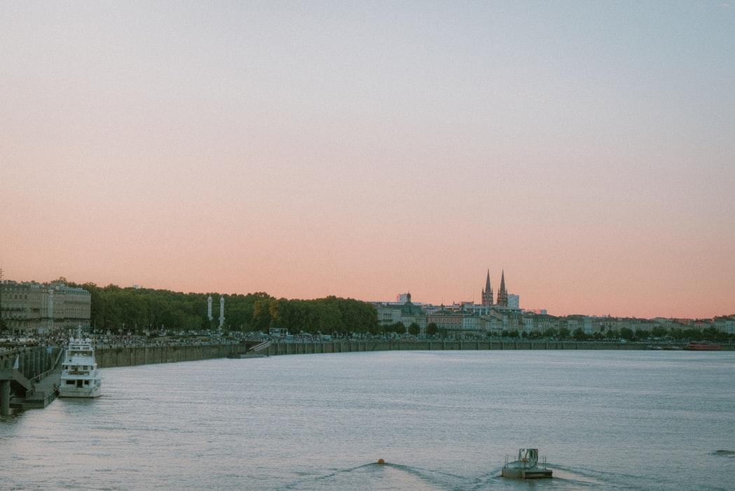 Vue sur Bordeaux