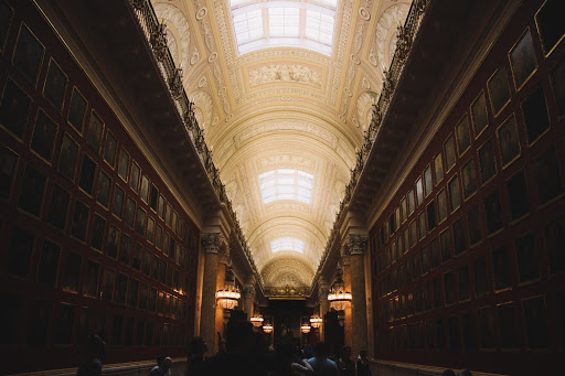 Le musée et palais de l'Ermitage