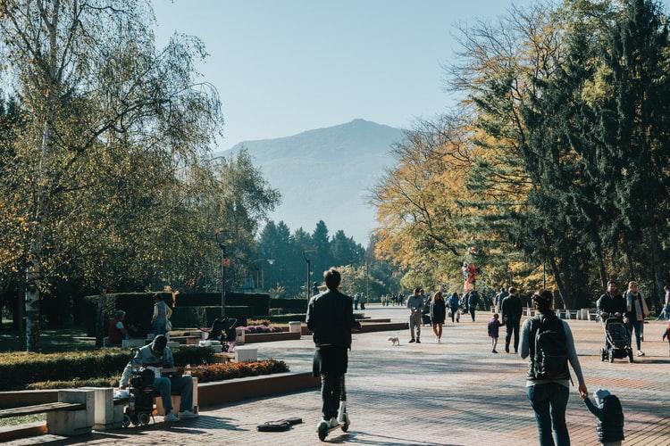 Un des parcs de Sofia