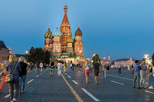 La place rouge, lieu incontournable de Moscou
