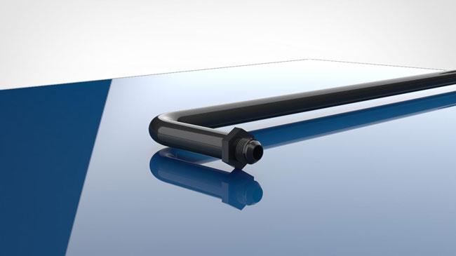 tube on table