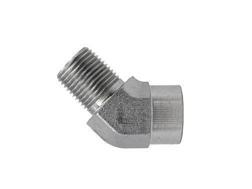 5503 - Male Pipe - Female Pipe 45 Degree Elbow