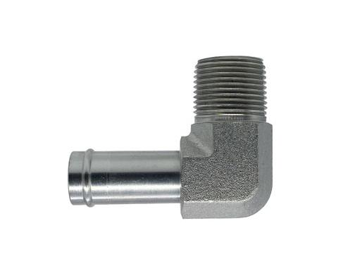 4501 - Beaded Tube - Male Pipe