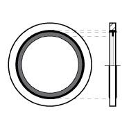 9500MM - BONDED SEAL FOR METRIC THREAD
