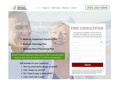 medicaresupplementsouthflorida.com website example\