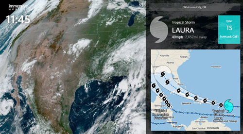 New Hurricane & Tropical Cyclone Tracking