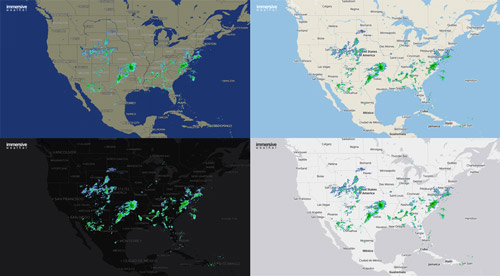 New Radar Basemaps